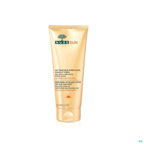 Nuxe Sun Verfrissende Aftersun Melk Gelaat En Lichaam Tube 200ml