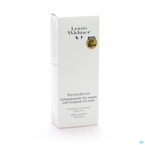 Louis Widmer Remederm Lichaamsmelk 5% Ureum Parfum 200ml