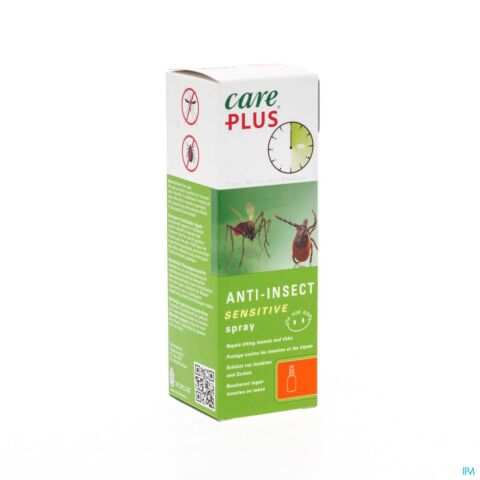 Care Plus Anti-Insect Spray Sensitive Zonder DEET 60ml