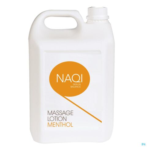 NAQI MASSAGE LOTION MENTHOL 5L