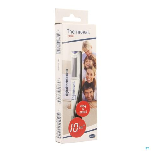 Hartmann Thermoval Thermometer Rapid 10sec 1 Stuk
