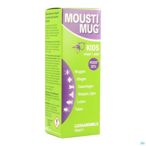 Moustimug Kids Lichaamsmelk 75ml
