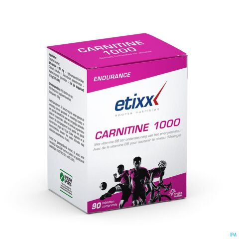Etixx Carnitine 90 Tabletten
