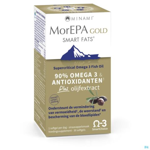 MorEPA Smart Fats Gold 30 Softgels