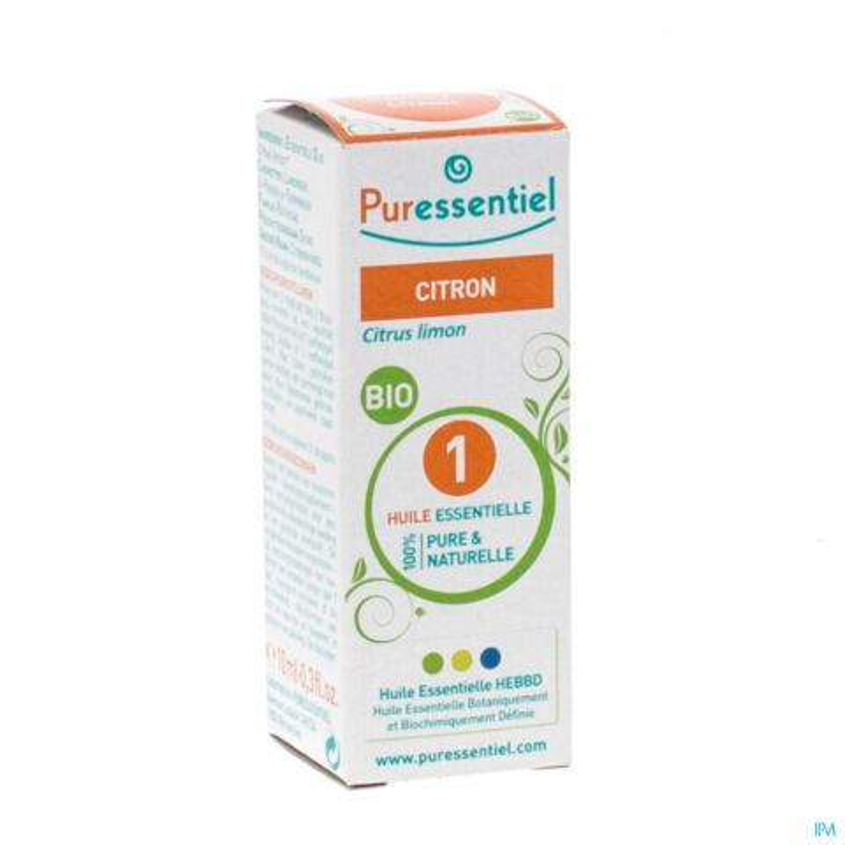 Puressentiel Citroen Bio Essentiële Olie 10ml