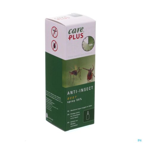 Care Plus Anti-Insect DEET Spray 50% 60ml