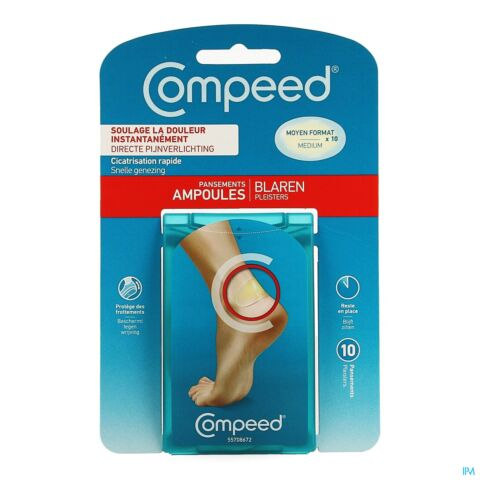 Compeed Blaren Medium 10 Pleisters