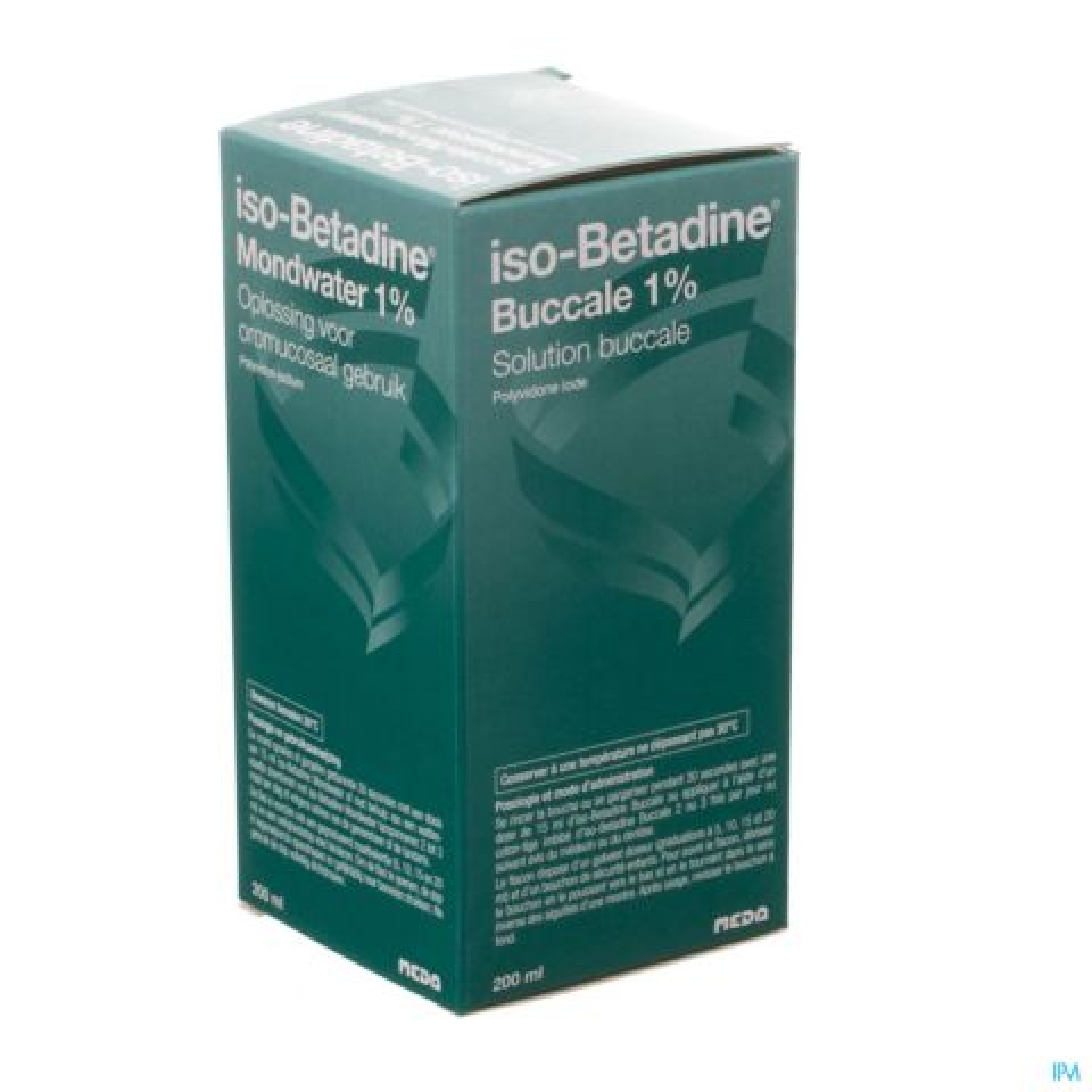 Iso Betadine Mondwater 1% 200ml