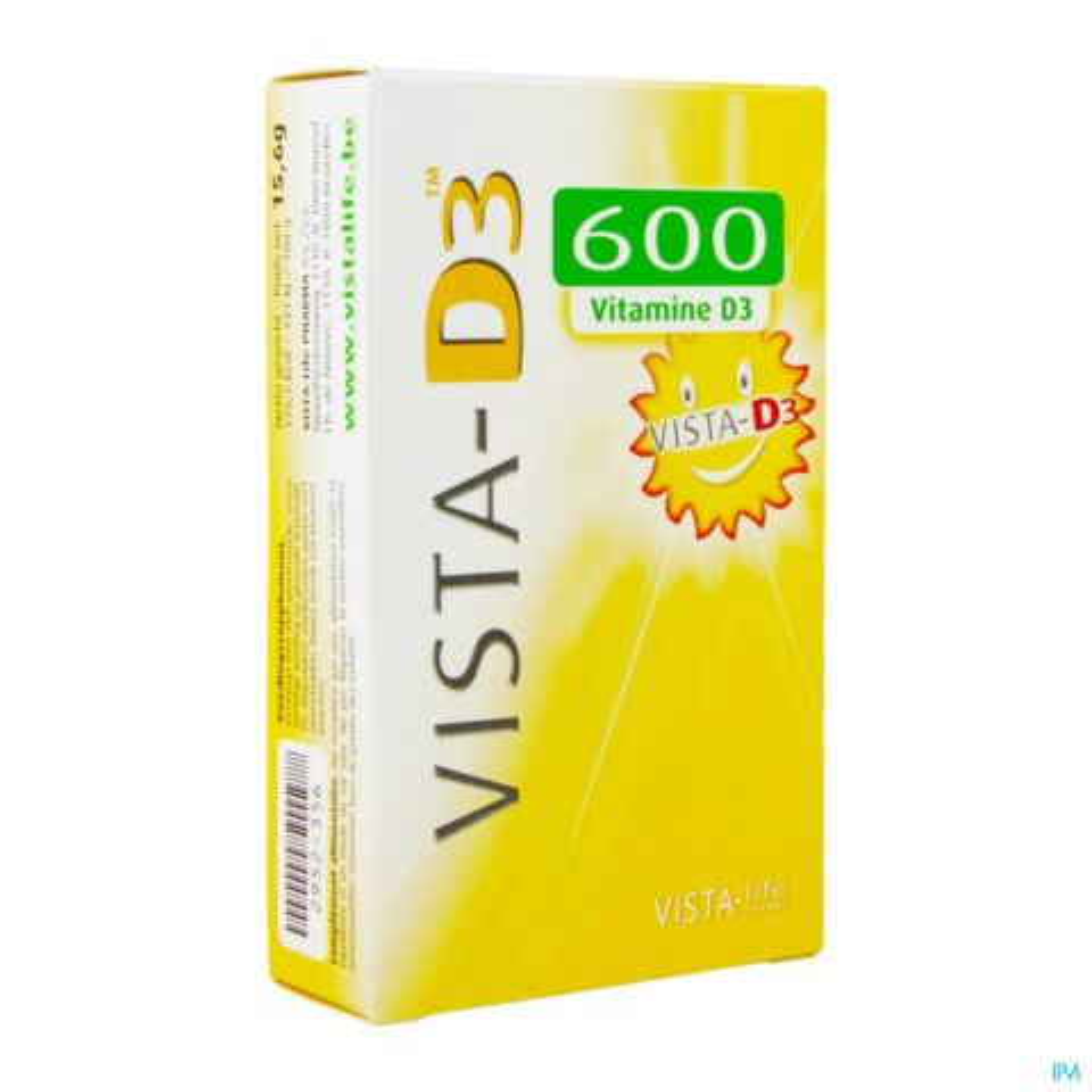 Vista D3 Adult 600 I.E. 120 Smelttabletten
