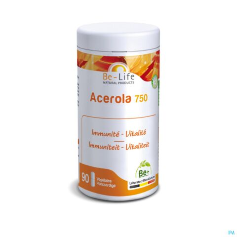 Be-Life Acerola 750 90 Capsules