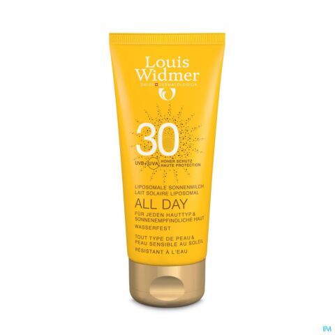 Louis Widmer Sun All Day Melk SPF30 Parfum 100ml