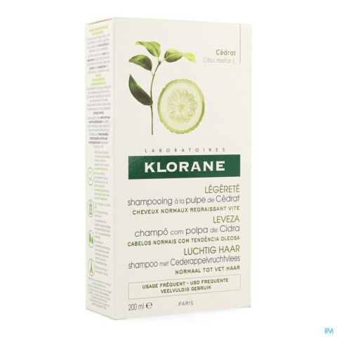 Klorane Shampoo Citruspulp 200ml
