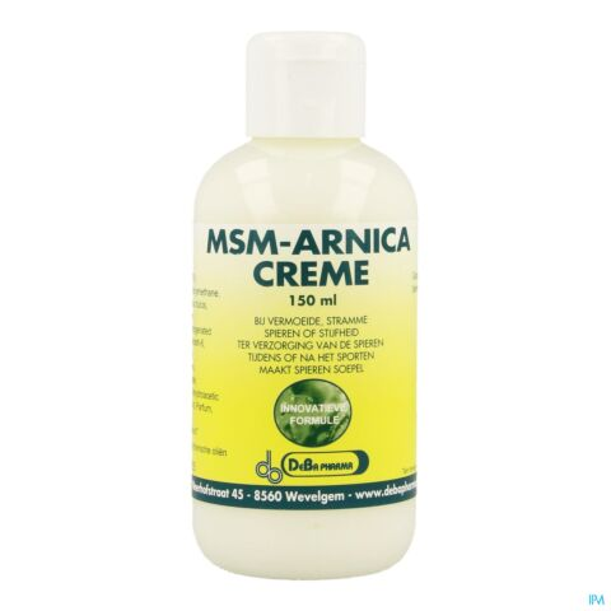 Msm Arnica Creme 150ml Deba