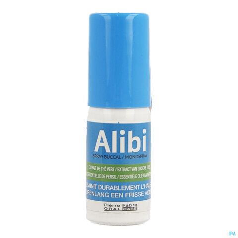 Alibi Spray Frisse Adem 15ml