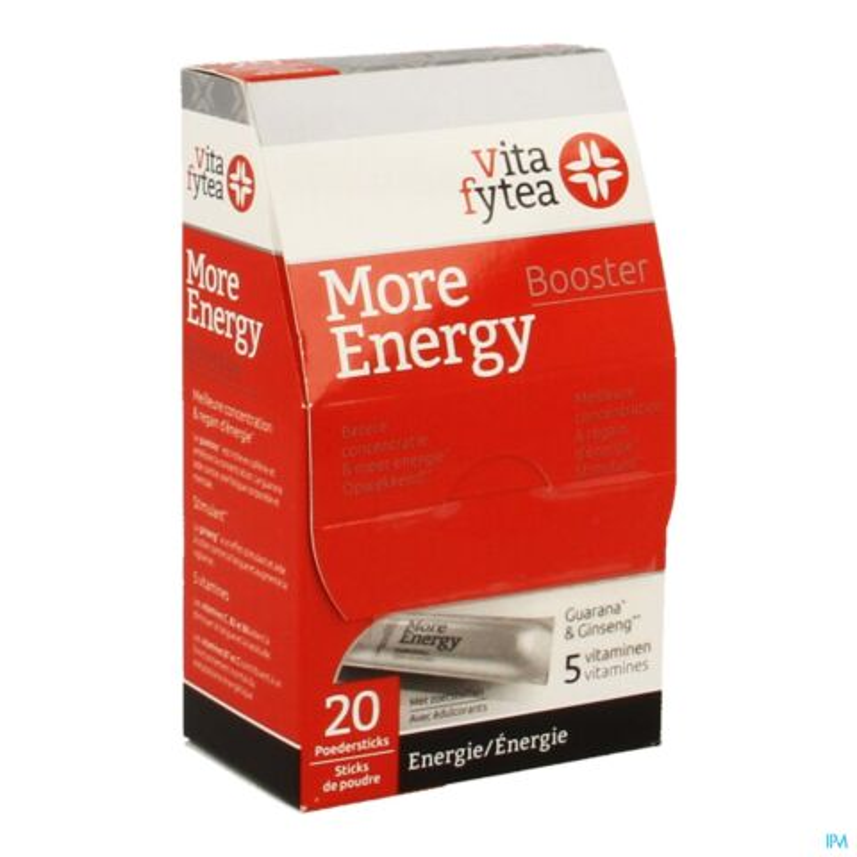 Vitafytea More Energy Booster 20 Poedersticks