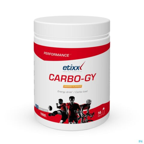 Etixx Carbo-Gy Orange 1000g