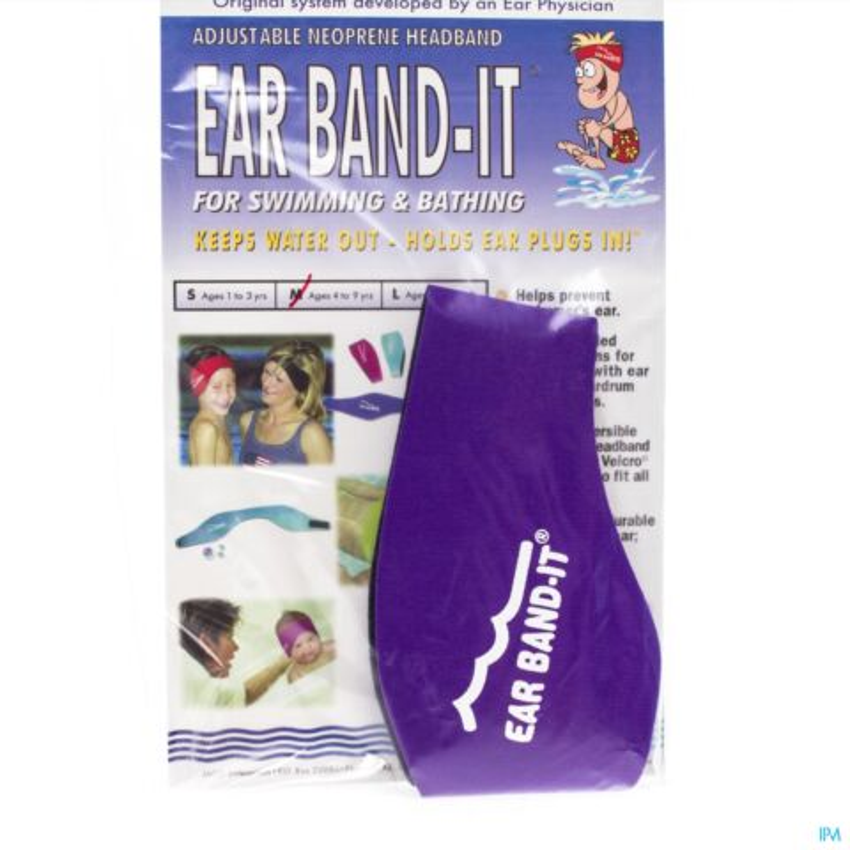 Ear Band-it Zwemmen Neopreen Medium