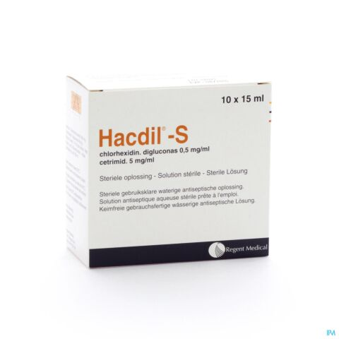 Hacdil-S 15ml 10 Unidoses