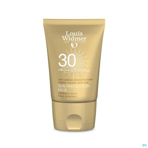 Louis Widmer Sun Protection Face SPF30 Parfum 50ml