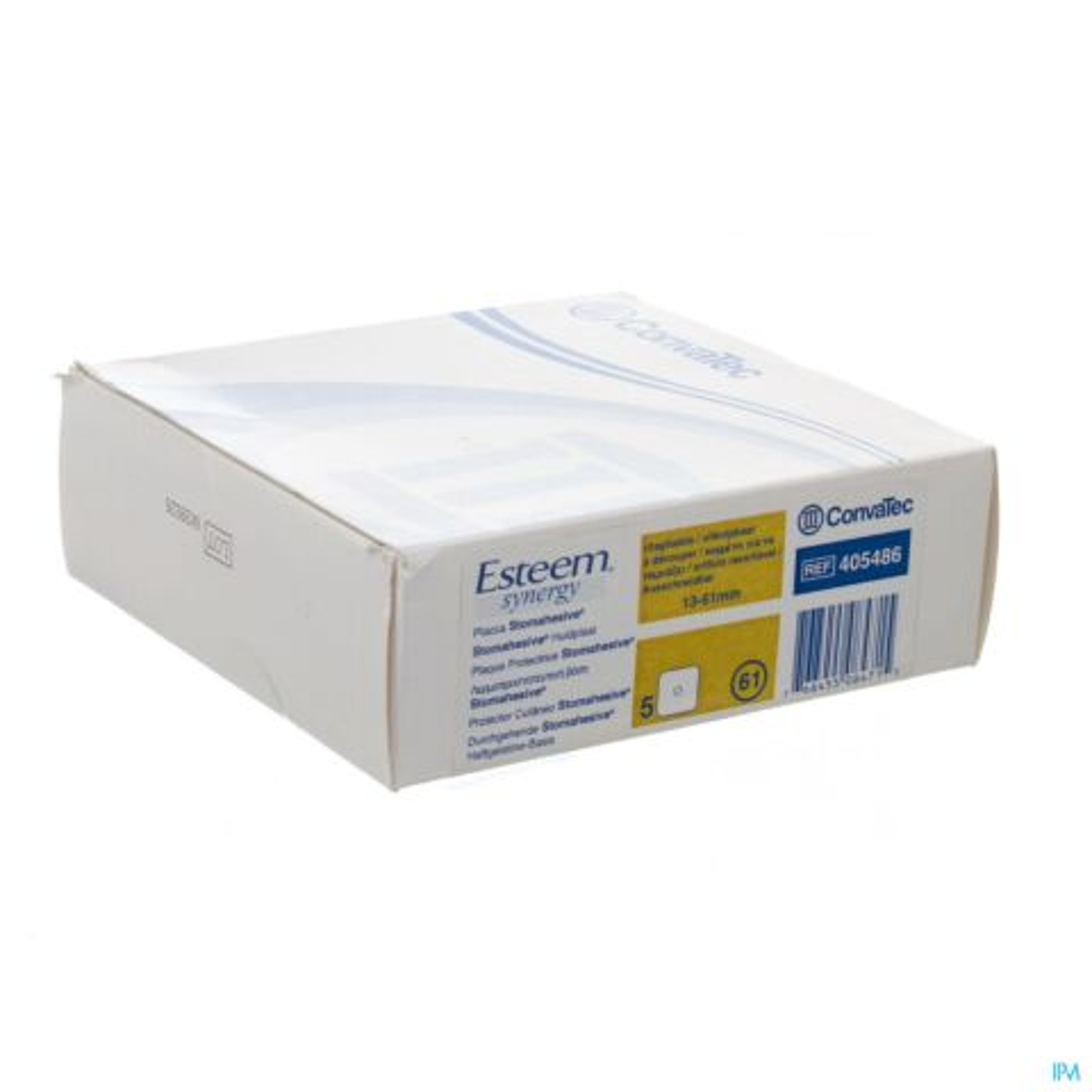 ESTEEM SYNERGY STOMAHESIVE PLAAT 13-61MM 5 405486