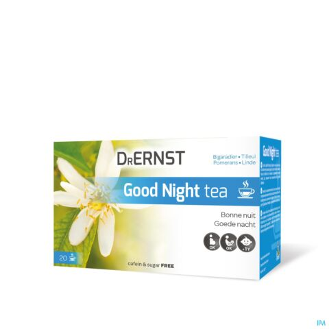 Dr Ernst Good Night Tea 20 Zakjes