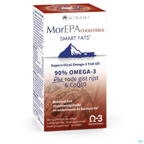 MorEPA Smart Fats Cholesterol 30 Softgels