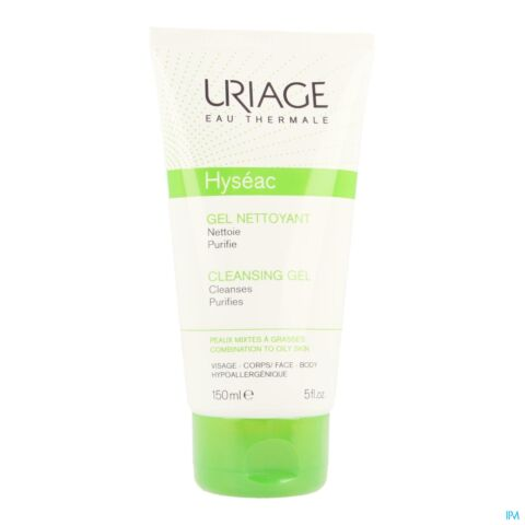 Uriage Hyséac Zuiverende Reinigingsgel Tube 150ml