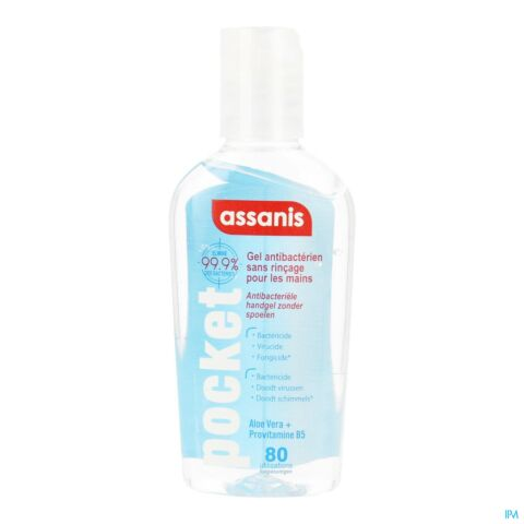 Assanis Pocket Classic Gel 80ml