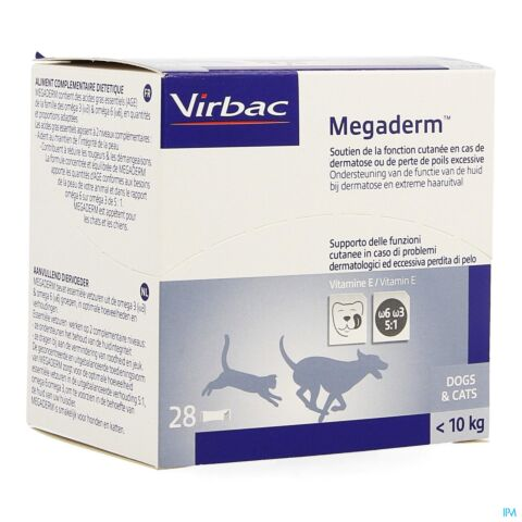 Megaderm Orale Oplossing Unidoses 28 X 4ml
