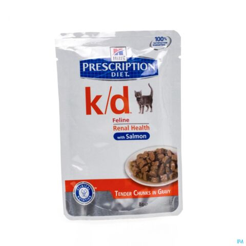 Hills Prescription Diet Feline k/d Kat Zalm 85g