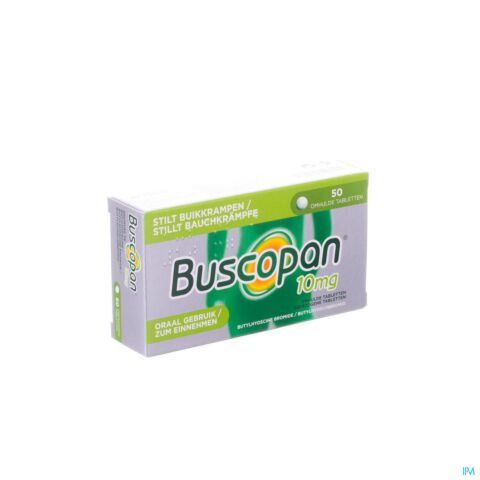 Buscopan 10mg 50 Tabletten