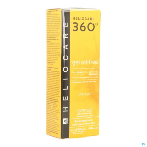 HELIOCARE 360 GEL OIL FREE IP50 TUBE 50ML