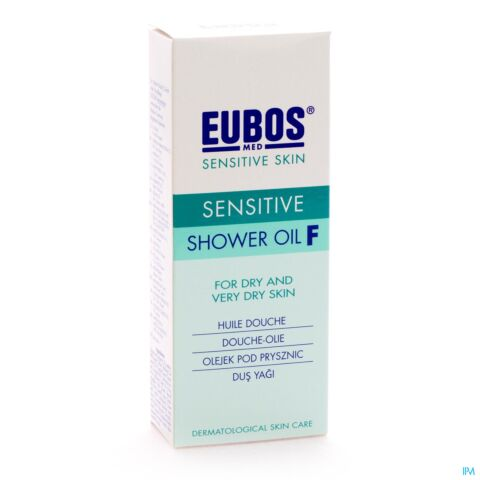 Eubos Doucheolie F Sensitive 200ml