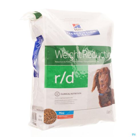 Hills Prescription Diet Canine r/d Hond Mini 6kg