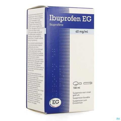 Ibuprofen EG 40mg/ml Suspensie 100ml