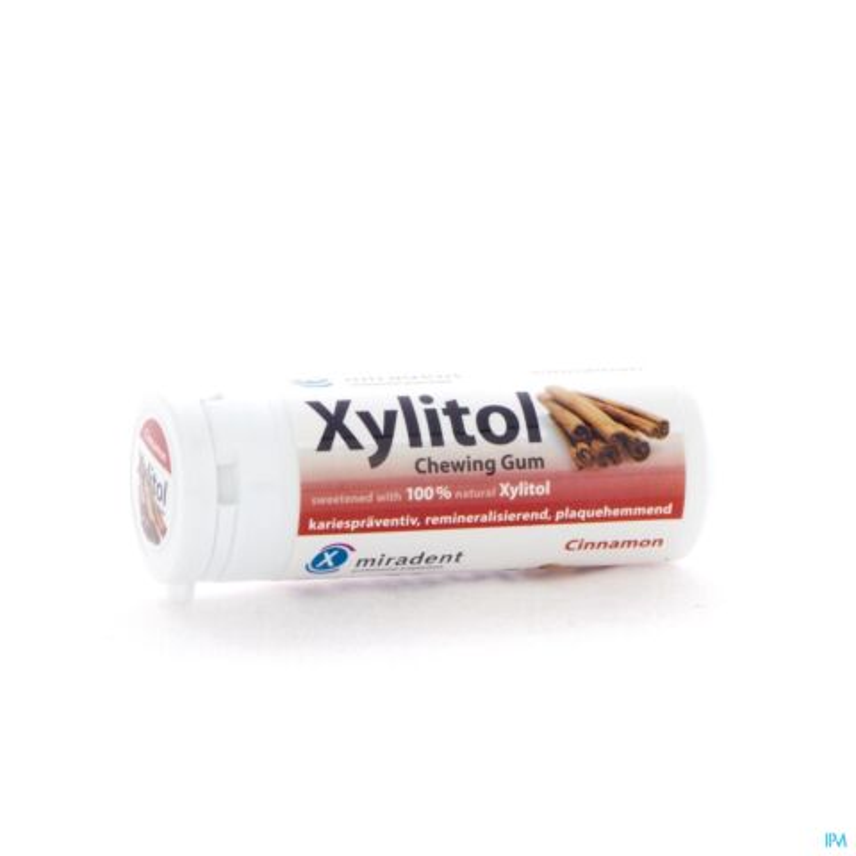 Miradent Xylitol Kauwgom Kaneel 30 Stuks