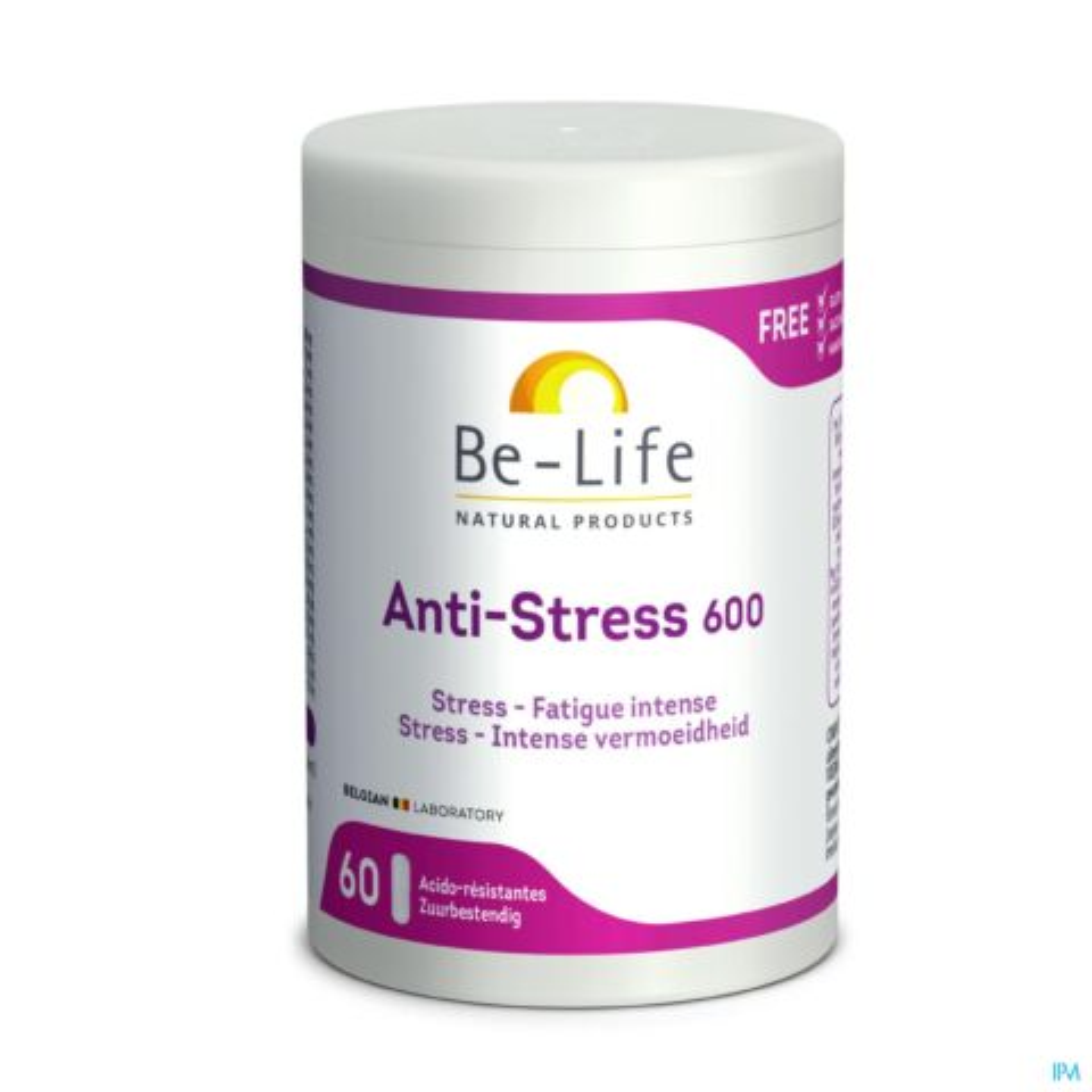 Be-Life Anti Stress 600  60 Capsules