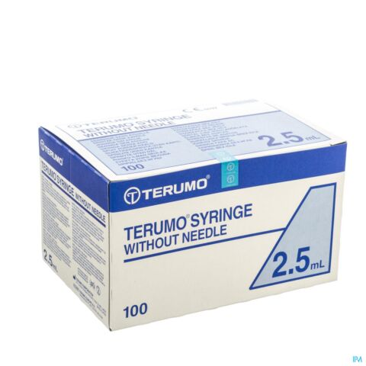 TERUMO SPUIT ZONDER NAALD LUER 2,5ML 100