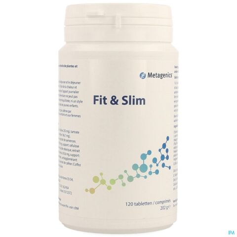 FIT & SLIM NF COMP 120 975 METAGENICS