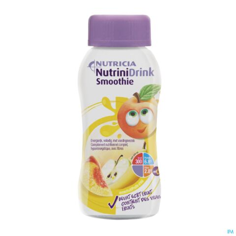 Nutrinidrink Smoothie Zomerfruit 200ml