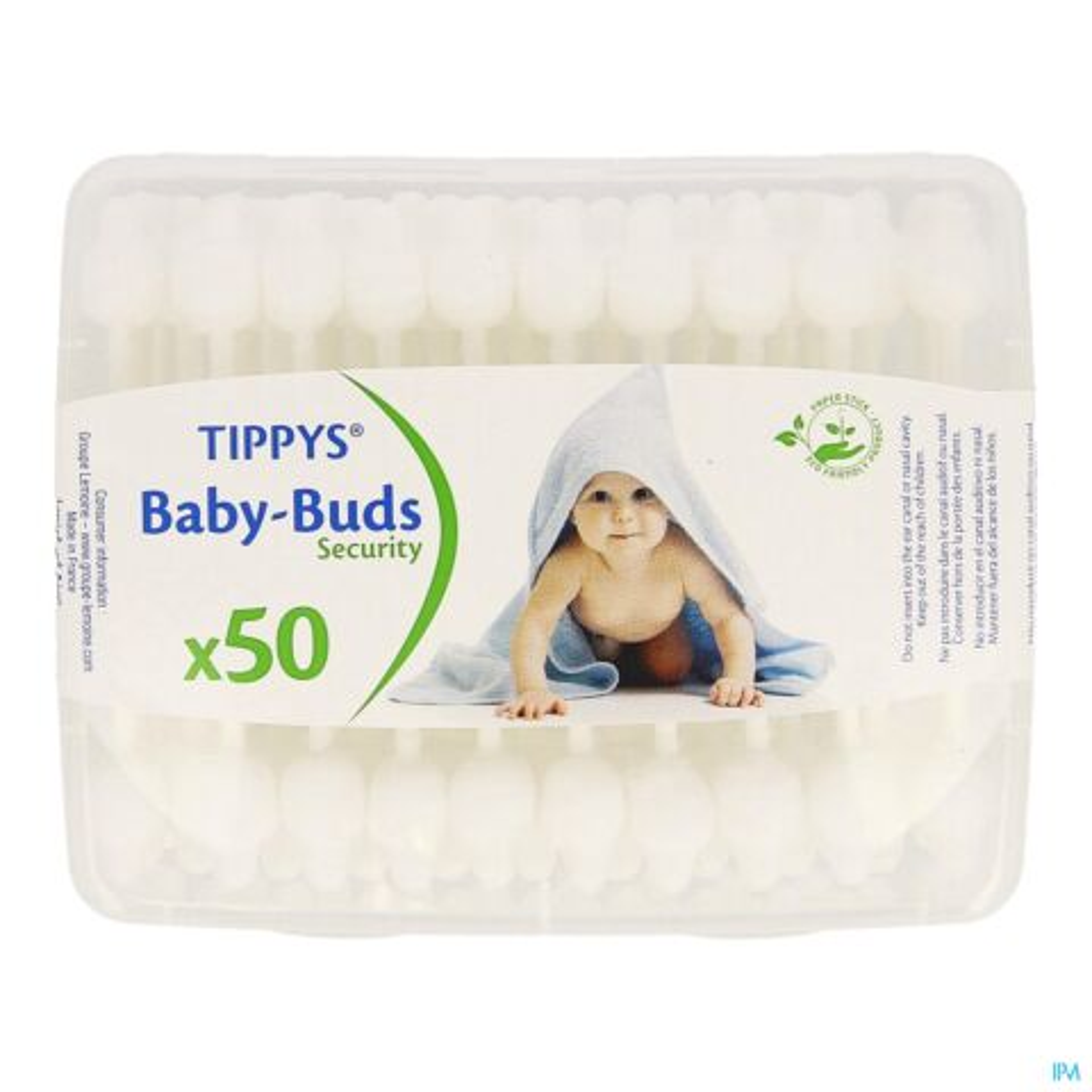 TIPPYS BABY BUDS PAPIEREN STAAFJES 50