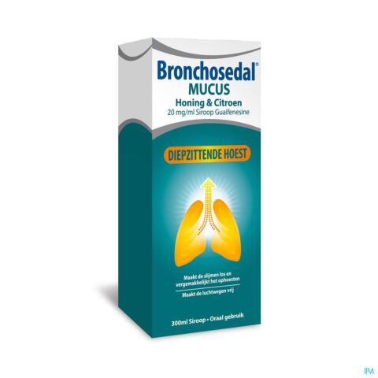 Bronchosedal Mucus Siroop - Honing Citroen 300ml 20mg/ml