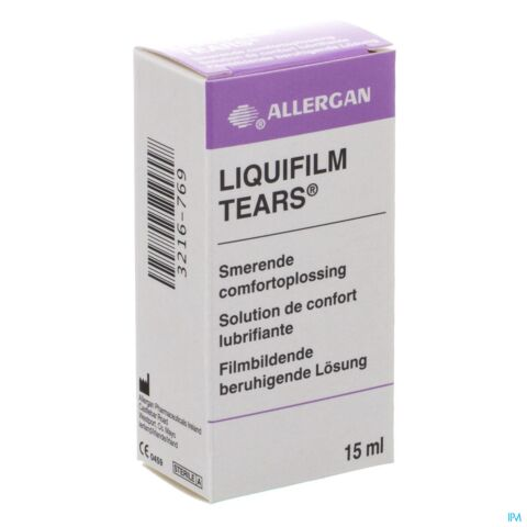 Liquifilm Tears Steriele Oplossing 15ml