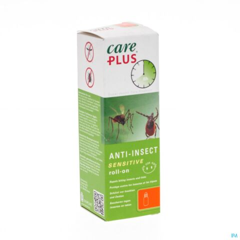 Care Plus Anti-Insect Roll-On For Kids Zonder DEET 50ml