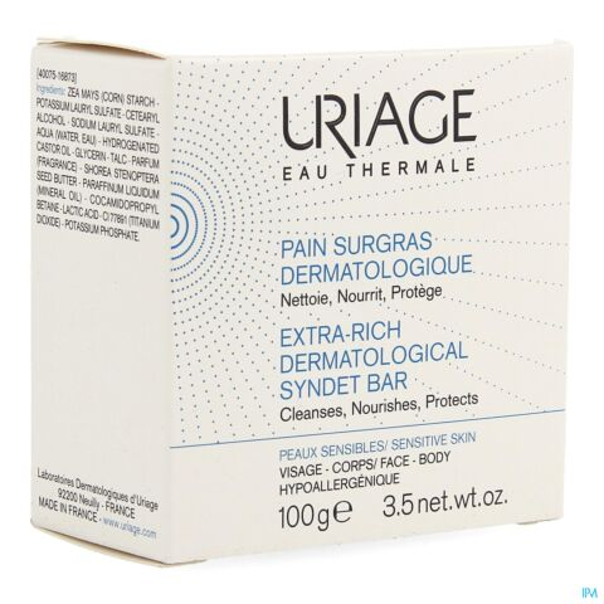 Uriage Overvet Dermatologisch Toiletblokje 100g