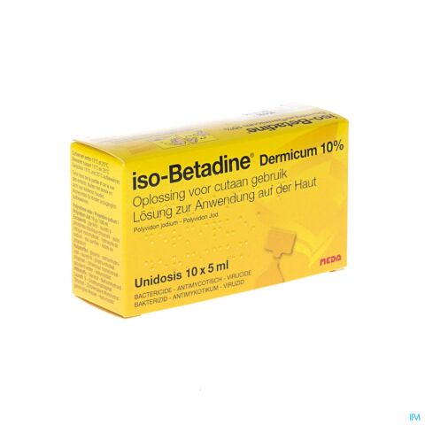 Iso-Betadine Oplossing 5ml 10 Unidoses