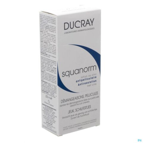 Ducray Squanorm Lotion Antiroos Zink 200ml