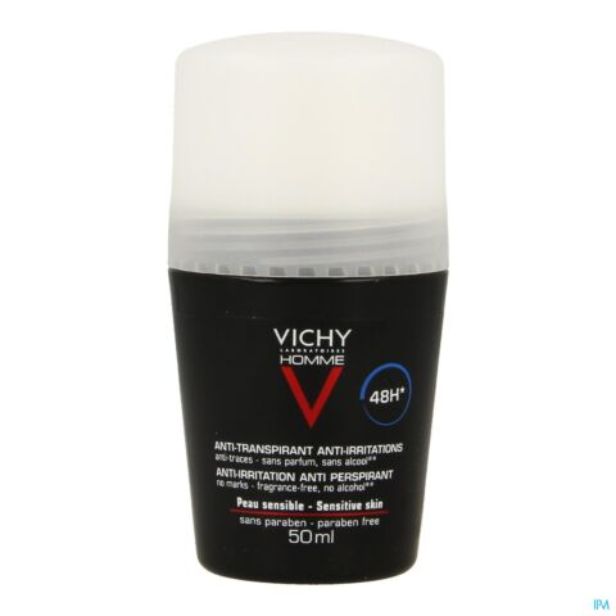 Vichy Homme Deodorant Roller 48 Uur 50ml