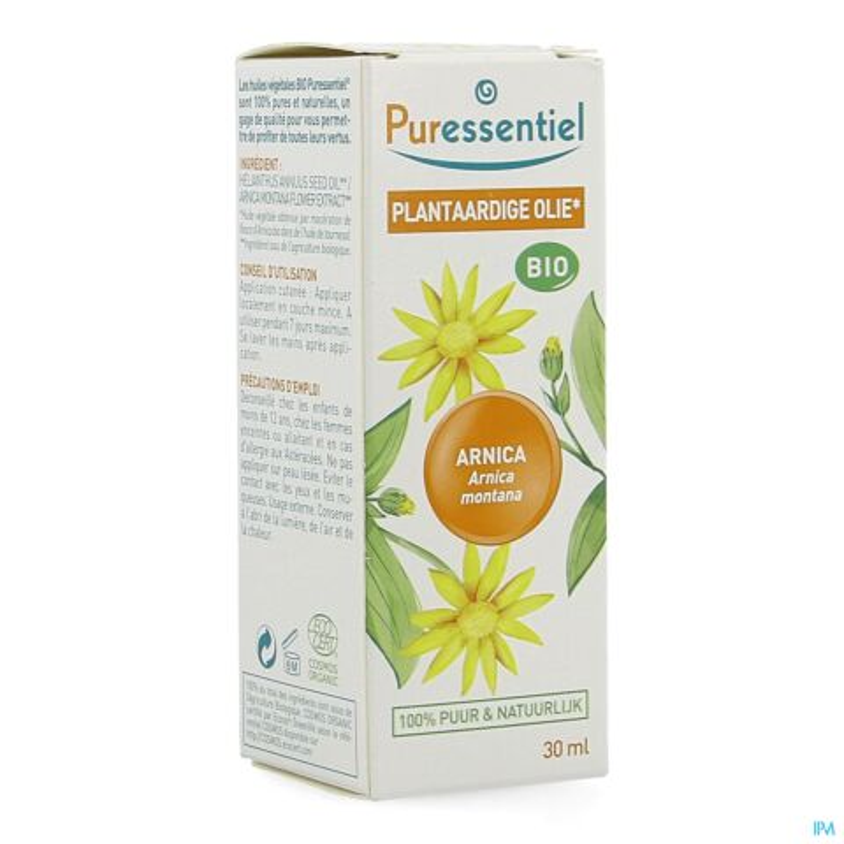PURESSENTIEL PLANT. OLIE BIO ARNICA 30ML