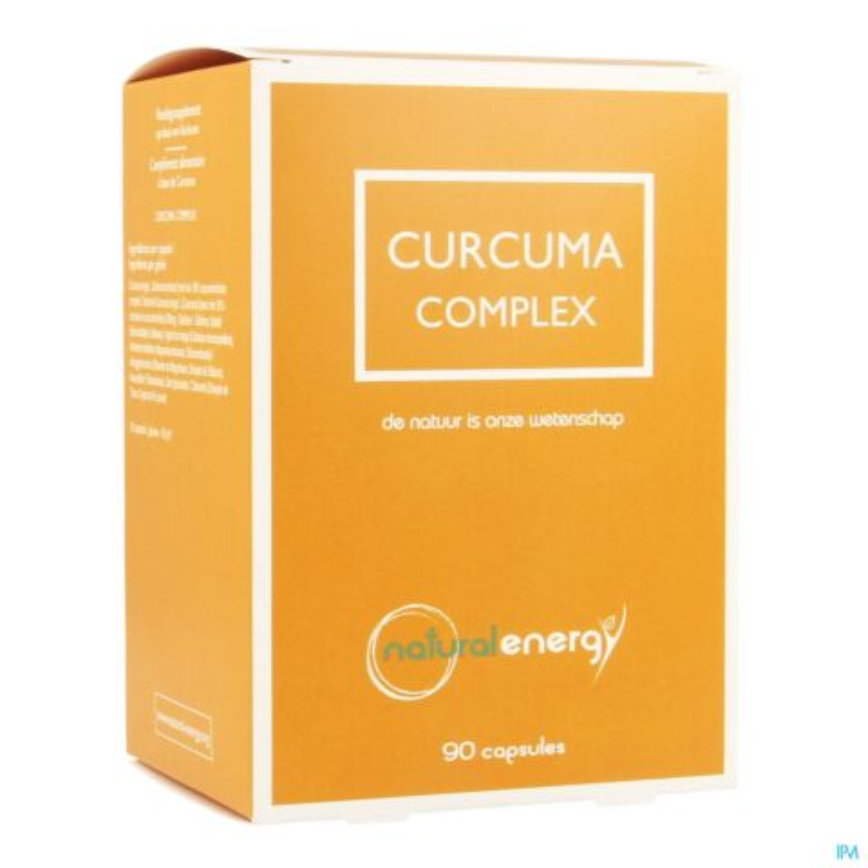 Natural Energy Curcuma Complex 90 Capsules